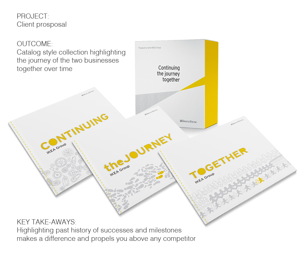 Branded Business Service Offeriengs Catalog Campaign - Print Design