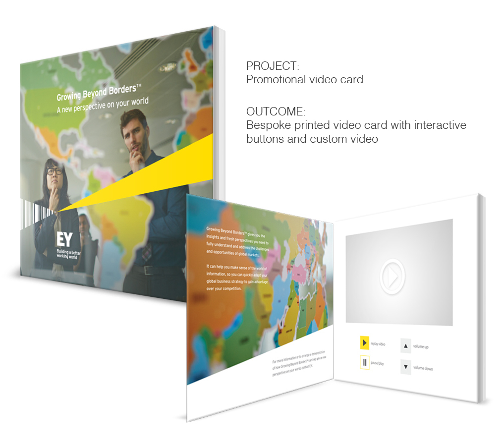 Brand Interactive Promotional Campaign - Print, Photography and Video Design